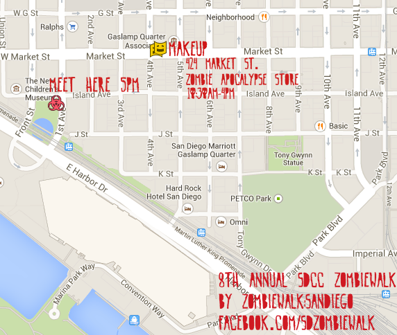 zombiewalk2014map